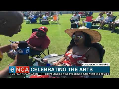 The Buyel'Ekhaya Pan African Festival is once again heating up East London