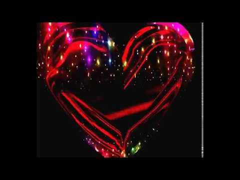 Футажи на прозрачном фоне   Сердца и цветы с титрами