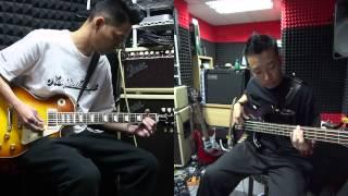五月天 突然好想你 Guitar and Bass Cover By Lim and Wayne (20150407)