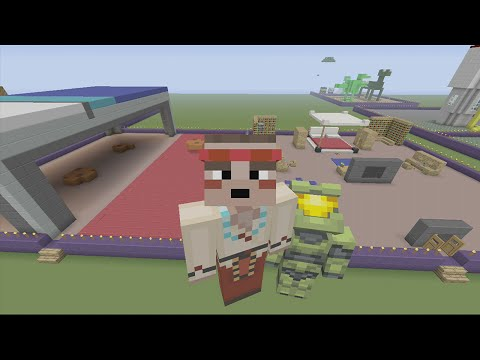 Minecraft Xbox 360 - Build it for a Biscuit Challenge - Bedr