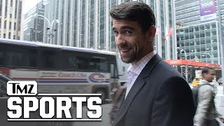 Michael Phelps Wants Tiger Woods To Break Jack's Record, 'He's Back!' | TMZ Sports