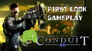 The Conduit HD NVidia Shield Gameplay Trailer - First Level - Android Tegra 4