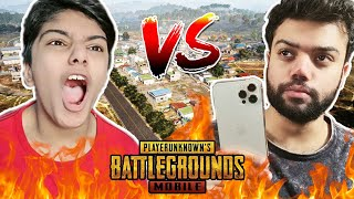 Giving iPhone 12 Pro Max To My Little Brother | PUBG Mobile TDM 1V1 !!!