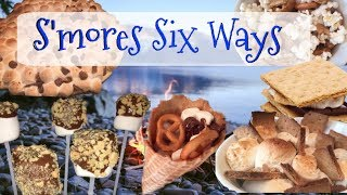 S'mores 6 unique ways! | Nikki Stixx