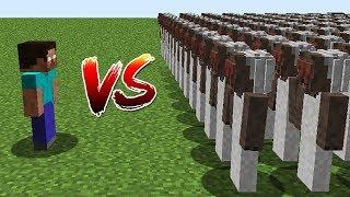 Minecraft Battle: NOOB vs PRO: HEROBRINE VS 10000 GRANNY CHALLENGE / Animation