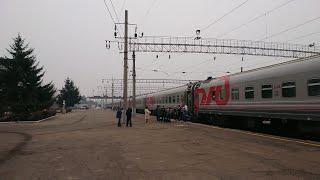 Обзор поезда Россия. Москва-Владивосток