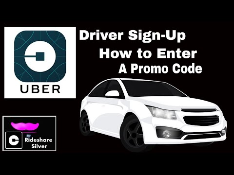 How To Apply An Uber Driver Promo Code Upon Sign-up.