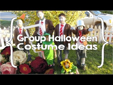 Large Group Halloween Costume Ideas.Group Halloween Costume Ideas Large Family