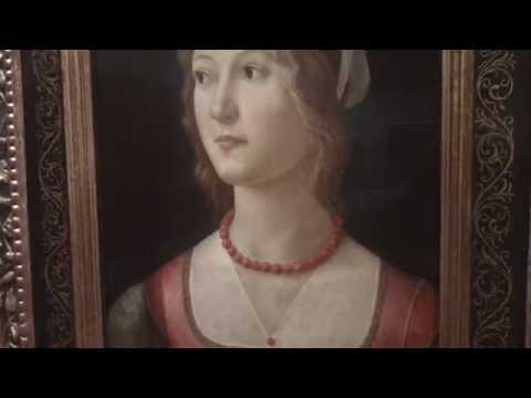 Portrait of a Young Woman 1490 Florence Domenico Ghirlandaio 1449-1494 Calouste Gulbenkian Museum