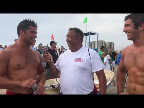 Vince Granese & Kyle Dero Interview at the Mike McGrath Longport Memorial Races