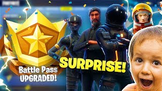 COMPRAR UN RANDOM KID EL PASO DE BATALLA FORTNITE!! - FORTNITE BATTLE ROYALE