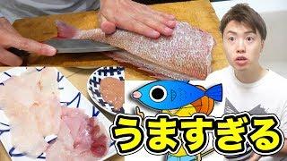 超絶おいしすぎる魚発見!釣った魚をさばいて調理していこう!
