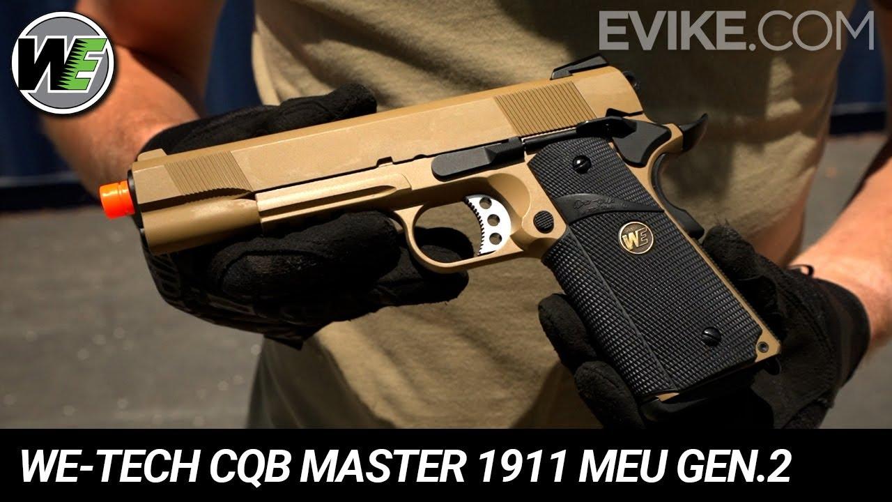 WE-Tech CQB Master 1911 MEU Gen. 2 Series - Snap Shot