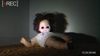 5 Espeluznantes grabaciones de muñecos que se mueven solos