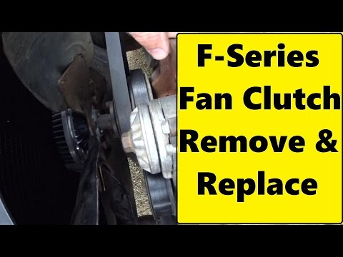 Repeat HOW TO REMOVE A FAN CLUTCH 2 MINUTES! by 2CarPros