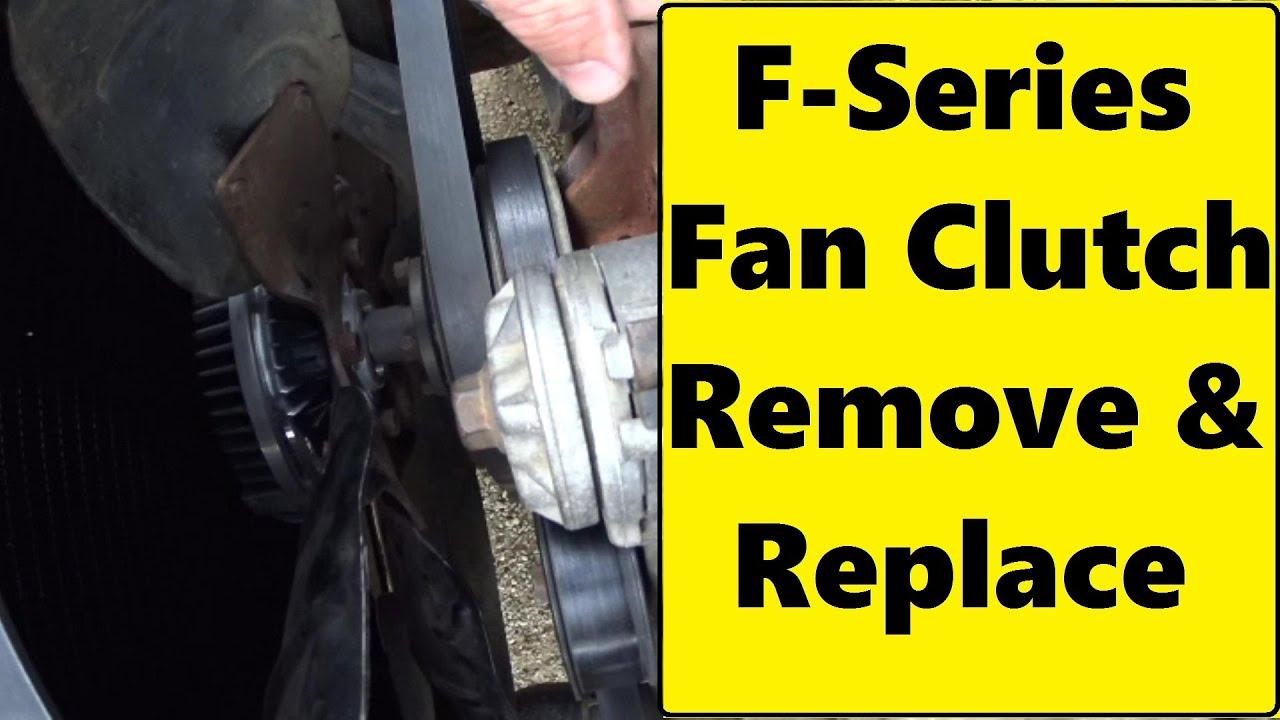 Ford 6 4 Fan Clutch Removal Tool Sante Blog