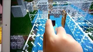 マインクラフト(iPad)5歳の女子実況 Minecraft Part 1