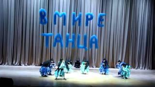 """""""Египетский танец"""" (премьера танца), 7 класс, Сочи, 2014 год"""