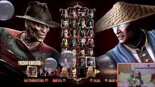 Mortal Kombat Gameplay   Reptile VS Rektore  X Мысля Геймится
