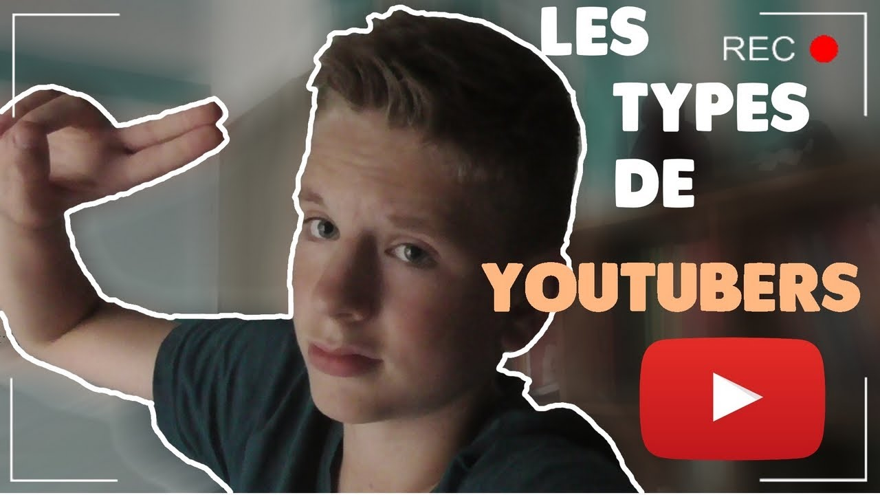 Emile les diff rents types de youtubers youtube - Differents types de miroirs ...