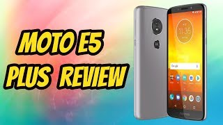 MOTO E5 PLUS REVIEW - 1 MONTH LATER