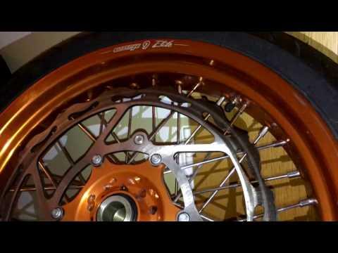 Warp9 Orange Rims!