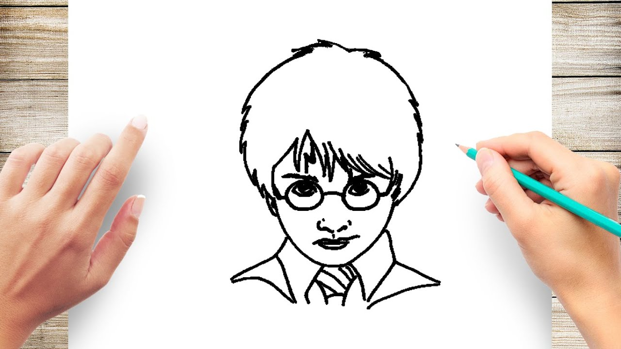 Harry Potter Drawings Easy Step By Step coloring pages