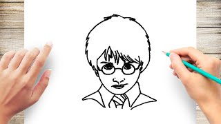 potter harry step draw easy drawings