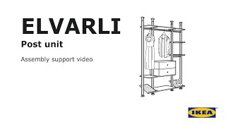 ELVARLI Post unit Assembly suṗport video
