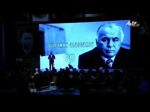 Süleyman Ələsgərovun 90 İllik Yubileyi (Heydər Əliyev Sarayı, 22 fevral, 2014)