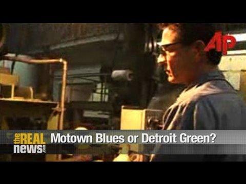 Motown blues or Detroit green