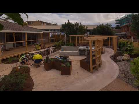 Dementia Garden - Construction Timelapse at Port Macquaire, by Sym Studio & Alzheimer's Australia