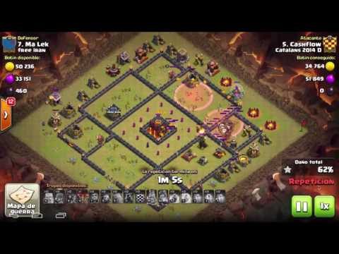 Catalans 2014D vs Free iran - Th10 3 Stars - Golaloon - Clash of Clans