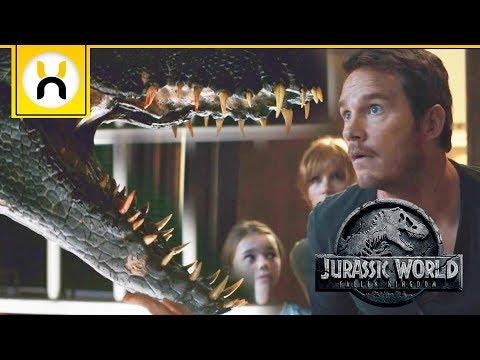 Jurassic World: Fallen Kingdom is a Horror Film with James Bond Action