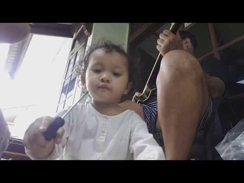 Nyervice Gitar Di Rumah Virgoun Last Child With Surat Cinta Untuk Starla | #dennystunt