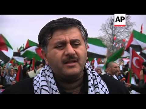 Activists welcome back ship seized in Israeli raid on Gaza-bound aid flotilla