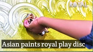 ASIAN PAINT  ROYAL PLAY WALL DISIGN | INTERIOR DISIGN | ASIAN PAINTSl