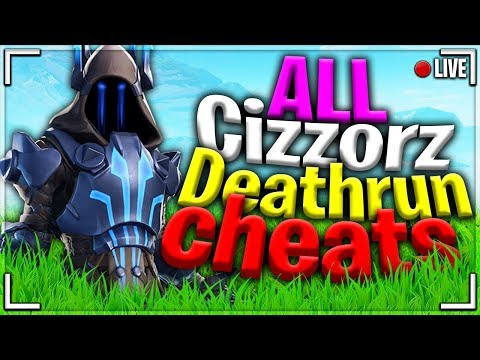 Fortnite ALL Cizzorz Deathrun Cheats Stages - *EASY* Guide