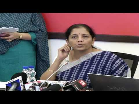 Commerce and Industry Minister Smt  Nirmala Sitharaman to la