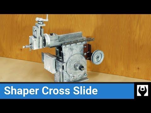 Cross Slide for Gingery Shaper - Scratch Built