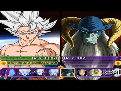 Goku Daishinkan Ultra Instinto Dominado VS Moro Dragon Ball Z BT3 Version! Latino *Epic Battle |
