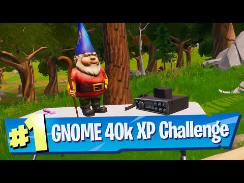 For The Gnomes (Secret 40k XP Challenge) Location - Fortnite Battle Royale