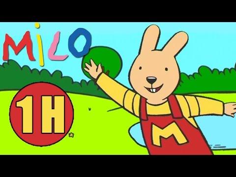1 Heure d'épisodes de Milo le Lapin ✿ Mega compilation