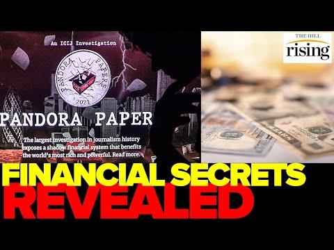Financial SECRETS Revealed: Pandora Papers UNVEIL Offshore, U.S. Tax Havens For Rich & Powerful