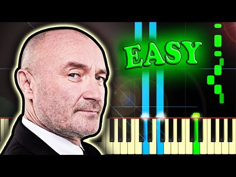 PHIL COLLINS - IN THE AIR TONIGHT - Easy Piano Tutorial