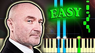 Cover images PHIL COLLINS - IN THE AIR TONIGHT - Easy Piano Tutorial