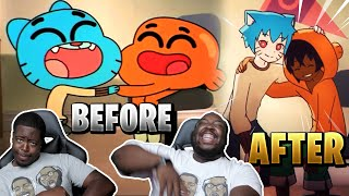 "What if ""The Amazing World Of Gumball"" was an Anime REACTION"