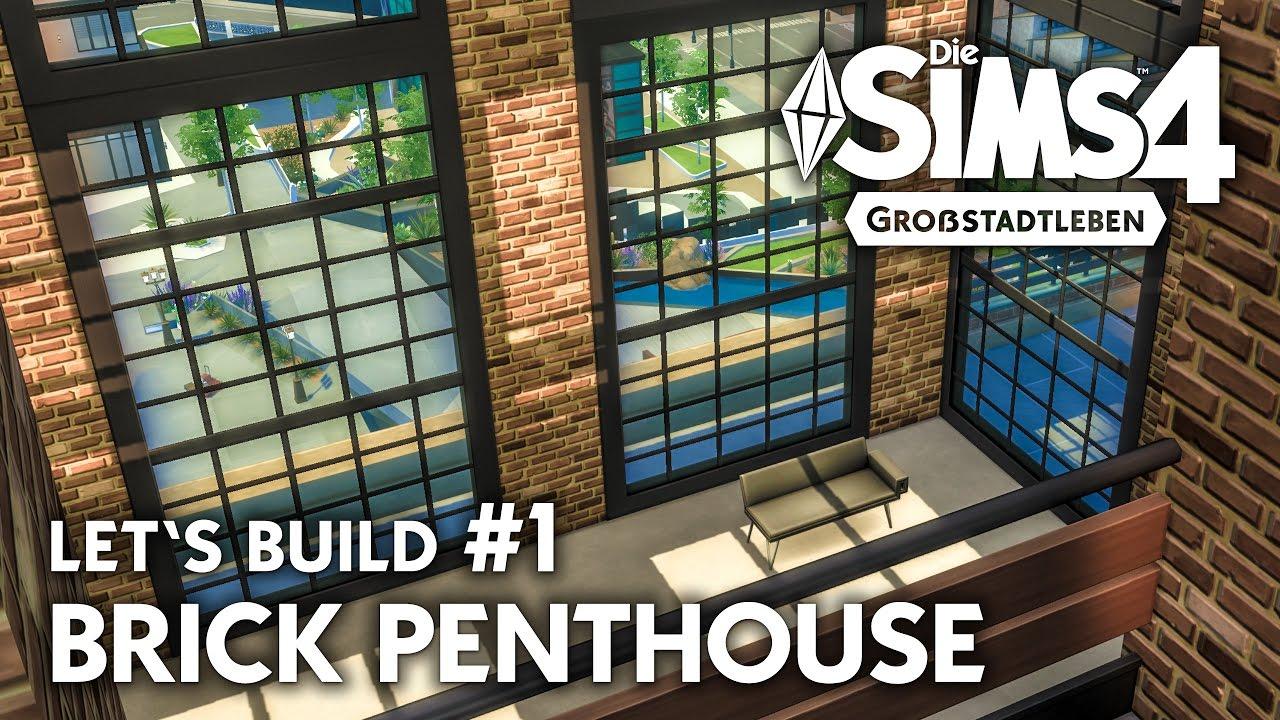 Amazing Die Sims Haus Bauen Brick Penthouse Grundriss Deutsch With 4 Apartment