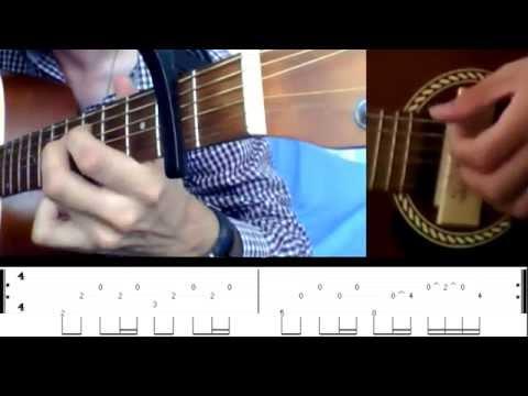 Leçon/Lesson Guitare One Of Us - Joan Osborne Fingerstyle + Tab