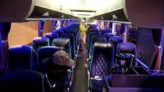 Penampilan Mewah Jetbus 3+ UHD dengan tronton Volvo B11R